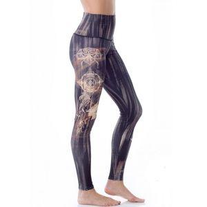 ONZIE High Rise Henna Print Full Length Legging